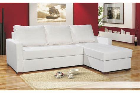 canapé d angle blanc canapé d angle cuir blanc pas cher