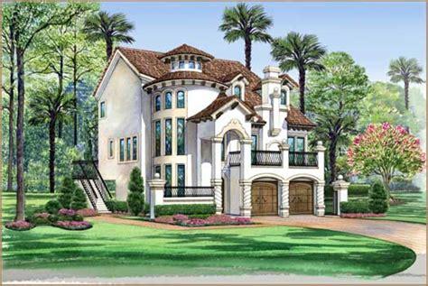 italian style home plans italian house plan 3 bedrooms 3 bath 3596 sq ft plan 63 443