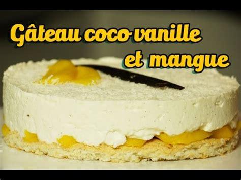 cheesecake hervé cuisine gâteau facile et bluffant coco vanille et mangue