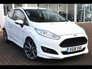 Ford Fiesta St Line Moteur : used ford fiesta 1 5 tdci st line 3dr frozen white 2016 youtube ~ Maxctalentgroup.com Avis de Voitures