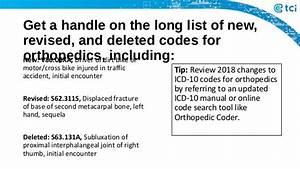 Confront Tough Orthopedic Billing  U0026 Coding Challenges
