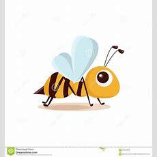 Illustration Of Isolated Cartoon Bee Royalty Free Stock Photo  Image 16014675