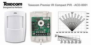 Texecom Premier Ir Compact Pir Acd-0001 - Uk Stock