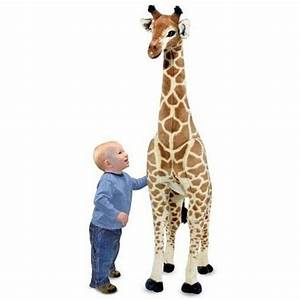 Big Giraffe Stuffed Animal Giant Plush Oversized Standing