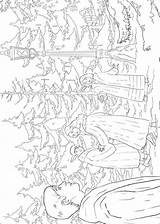 Narnia Chronicles Coloring Fun sketch template