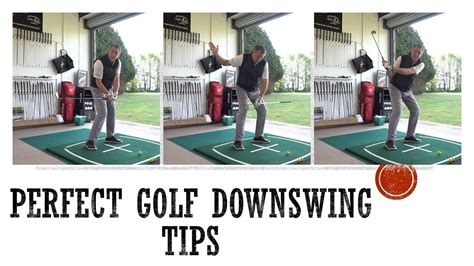 Perfect Golf Downswing Tips - YouTube