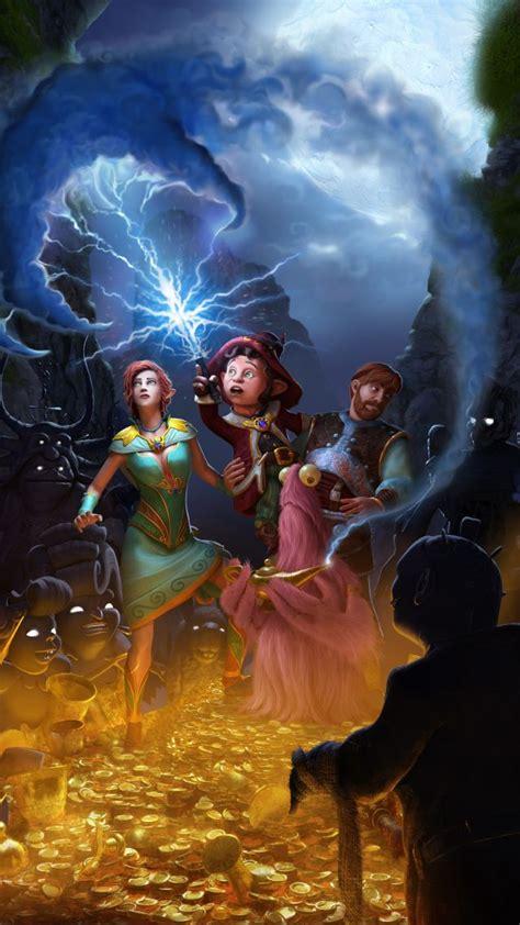 wallpaper book  unwritten tales   games quest