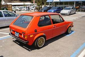 Vw 2dr 1982 Rabbit  Caribe   Mars Red