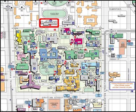 Melb Uni Map – Beaurepaire Centre « Melbourne University ...