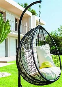 Fauteuil Cocon Suspendu : balancelle le fauteuil suspendu qu 39 on adore fauteuil suspendu suspendu et fauteuils ~ Melissatoandfro.com Idées de Décoration