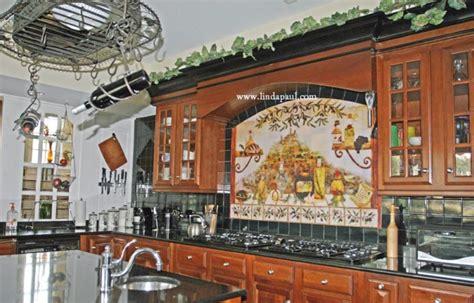 tile murals for kitchen kitchen backsplash tile murals by paul studio by 6172