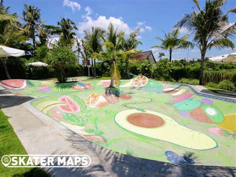 komune resort beach club bali indonesia skateparks