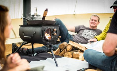 frontier  portable stove  coolector