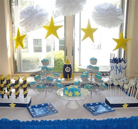 star theme birthday party birthday space baby shower