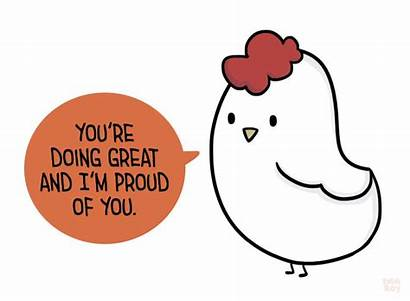 Proud Clipart Doing Quotes Positivity Drawing Emm