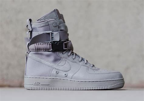 nike sf af1 grey detailed photos sneakernews com