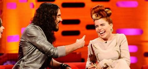 russell brand on graham norton russell brand teased by paloma faith about marriage on