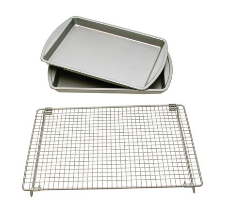 rack baking cooling sheets chef sheet le basic bakers commercial pan pantry ware nordic half excelle tier elite overstock shelves