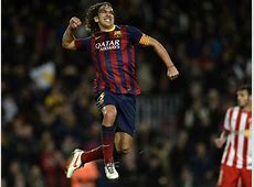 Carles Puyol The raggyhaired Barcelona defender who even