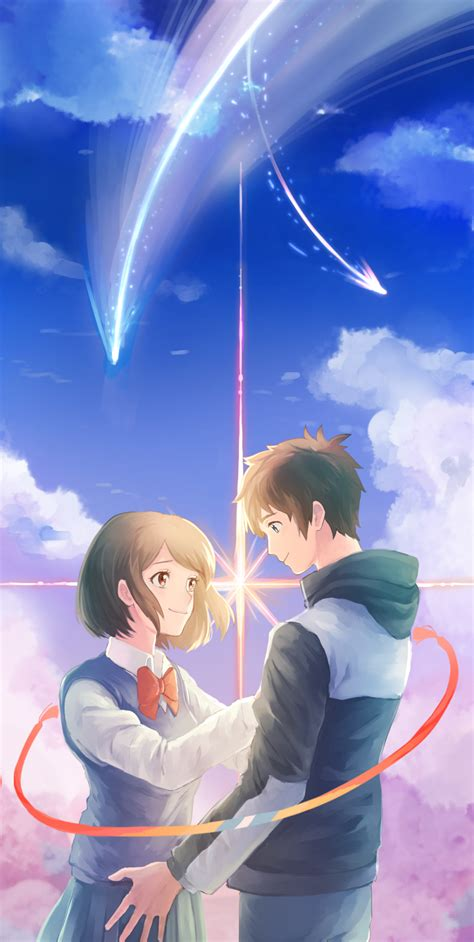 Anime Your Name Kimi No Na Wa Link 2016 Random Thoughts Kimi No Na Wa Your Name Image 2036625 Zerochan