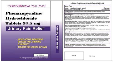 phenazopyridine urine color phenazopyridine hydrochloride 97 5mg amol pharmaceuticals