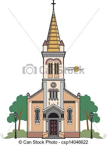 clipart chiesa illustrazioni vettoriali di cattolico chiesa vettore