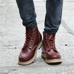 designer sneaker herren aliexpress buy autumn new designer boots leisure lace up boots 39 s leather