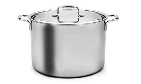 demeyere   stainless steel stock pot  quart cutlery