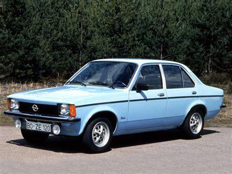 opel kadett 1976 opel kadett spécifications techniques et économie de carburant