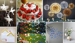 50 extraordinary beautiful diy paper decoration ideas