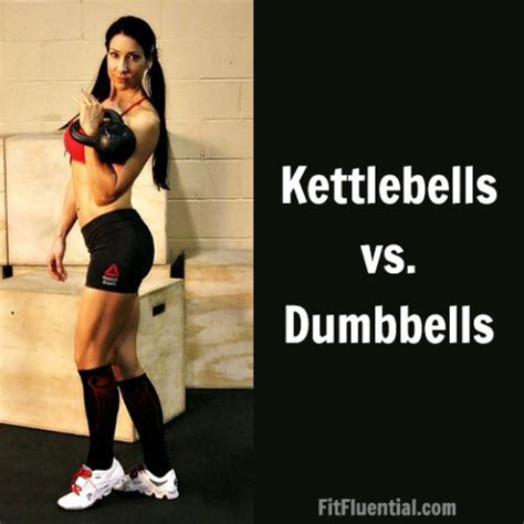 Kettlebell Swing With Dumbbell by The Difference Between The Kettlebell And The Dumbbell