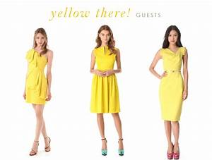 yellow dresses for bridesmaids and guests With yellow dresses for wedding guest