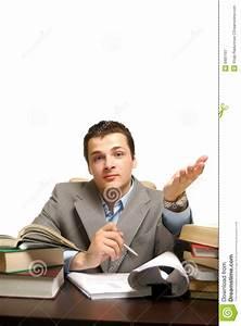 Business Man Isolated On White Background Stock Image ...