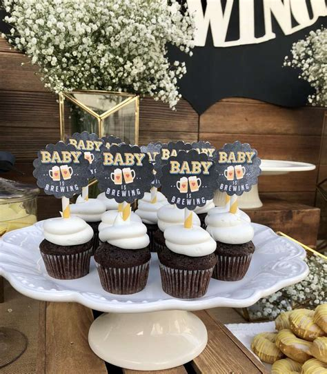 baby  brewing baby shower party ideas photo