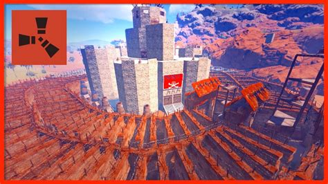 rust base biggest clan server raids vanilla