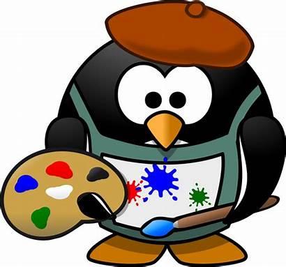 Artist Clipart Clipartpanda Painter Penguin Terms