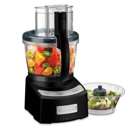 cuisinart home cuisine cuisinart elite 2 0 food processor fp12bkn the home depot