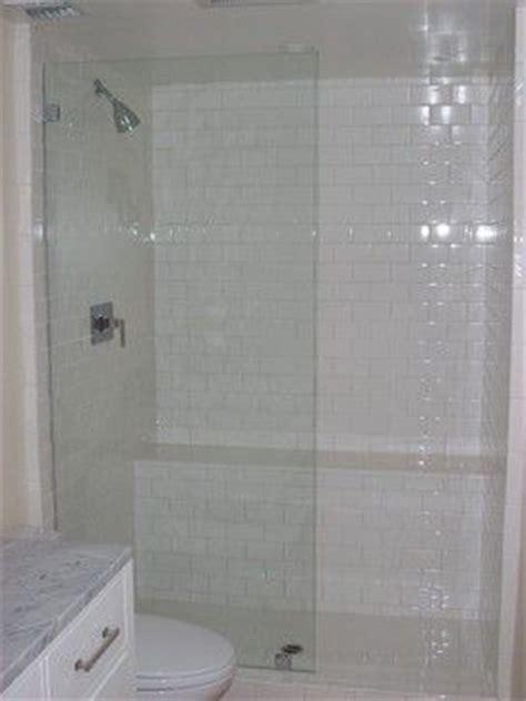 Single Frameless Shower Panel  Door Serene