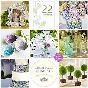 Purple, Aqua And Green Garden Wedding Theme #2144620 ...