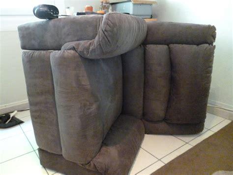 réparer canapé canapé fauteuil comment réparer système releveur manuel
