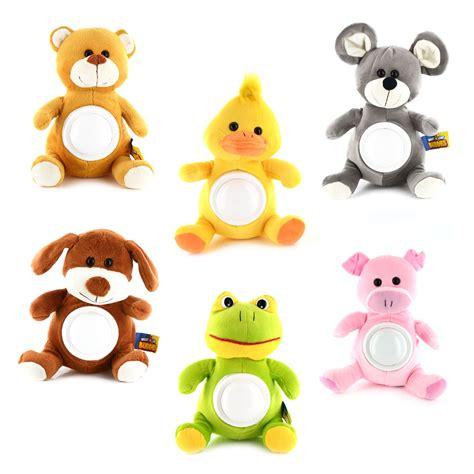 cuddly animal night light projector soft cuddly kids night light toy plush animal pet