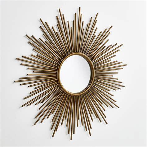 chambre bebe decoration miroir soleil ø80 cm soledad laiton am pm la redoute