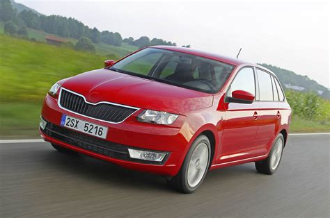 Skoda Rapid Spaceback 16 Tdi First Drive