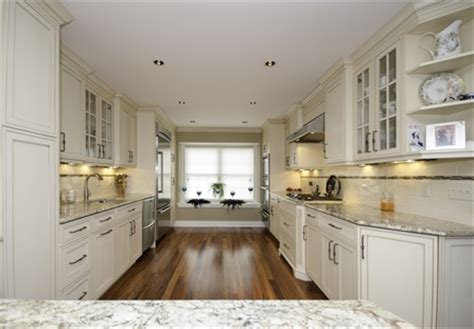 galley kitchen  peninsula neptune nj  design