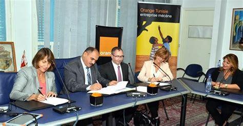 orange tunisie siege orange s engage en faveur de l apprentissage numérique