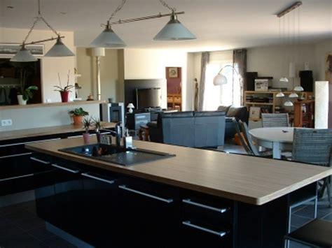 cuisine avec ilot central grande cuisine avec ilot central cuisine equipee moderne