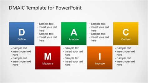 dmaic template  powerpoint slidemodel