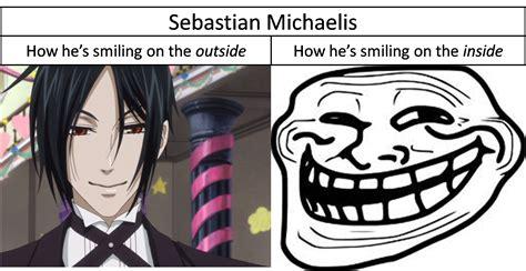 Sebastian Michaelis Memes - sebastian michealis as a lady sebastian michaelis xd random fan art 30797131 fanpop