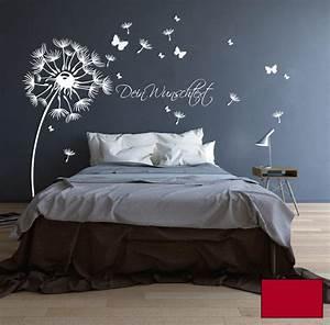 Wandtattoo Wall Art : wandtattoo pusteblume bl ten schmetterlinge wunschtext m1416 ebay ~ Sanjose-hotels-ca.com Haus und Dekorationen