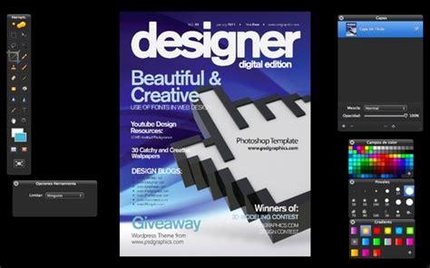 mag de gratis blue magazine cover portada de revista gratis en formato psd pixelco tech